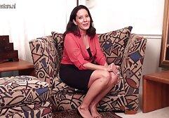 Liz-gemolken auf geile reife mösen dem Sybian